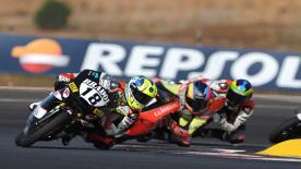 Highlights of the FIM CEV Repsol Moto3 race at the Circuito do Algarve.