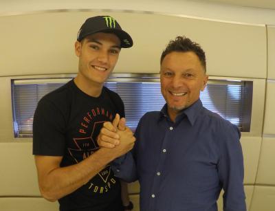 Navarro steigt mit Gresini in Moto2 auf