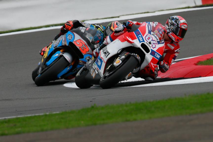 Andrea Dovizioso, Ducati Team and Tito Rabat, Estrella Galicia 0,0 Marc VDS, Octo British Grand Prix