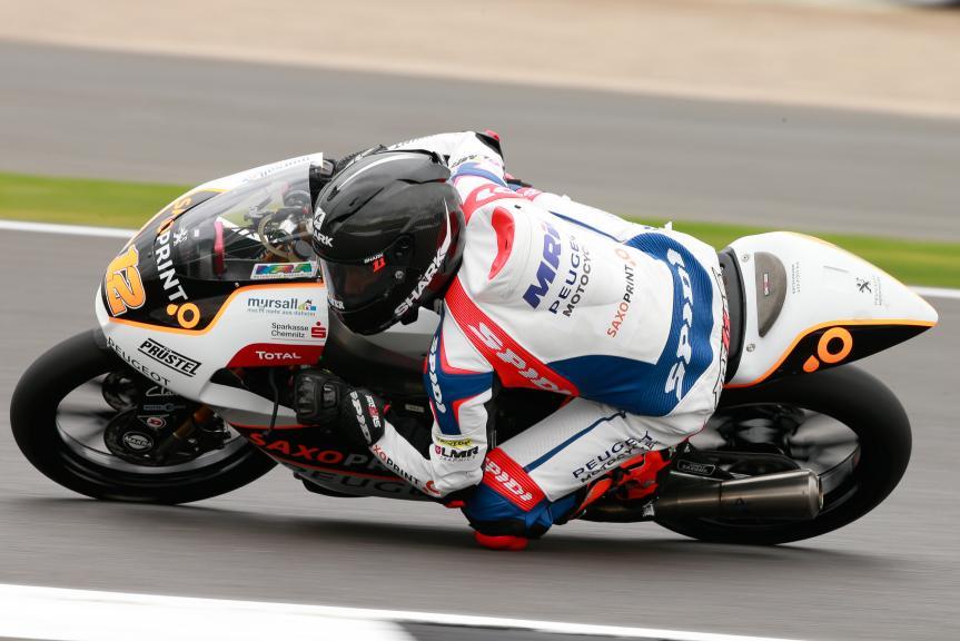 Albert Arenas, Peugeot MC Saxoprint, Octo British Grand Prix