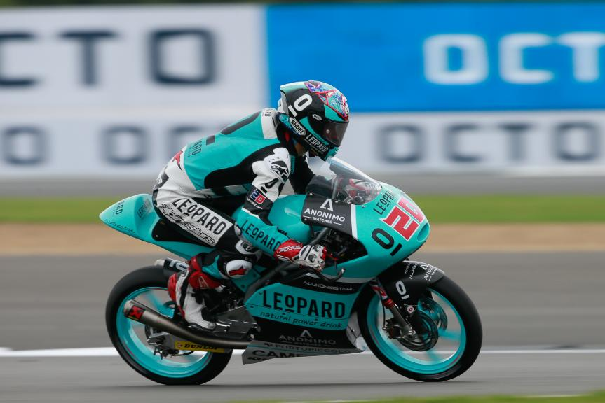 Fabio Quartararo, Leopard Racing, Octo British Grand Prix