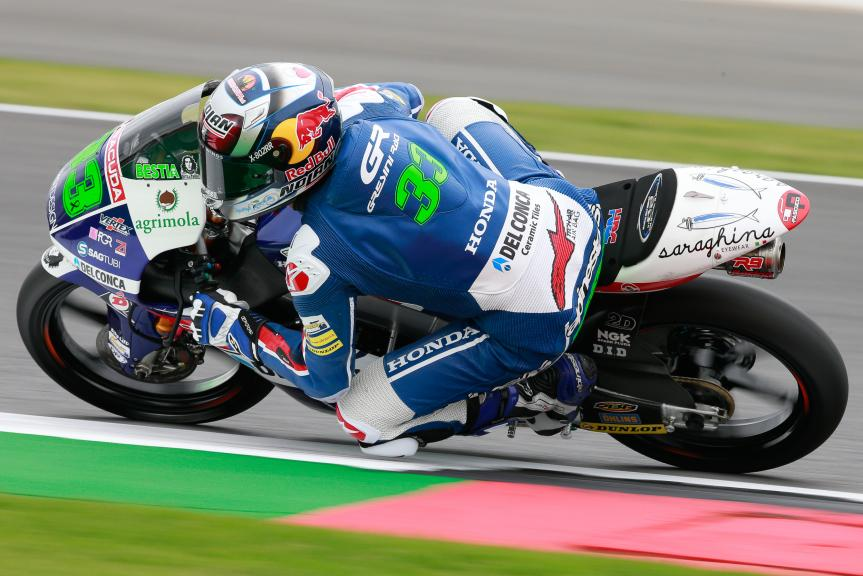 Enea Bastianini, Gresini Racing Moto3, Octo British Grand Prix