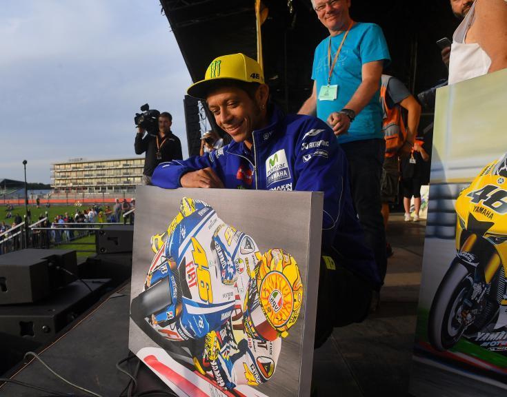 Valentino Rossi, Movistar Yamaha MotoGP, Day Of Champions, Octo British Grand Prix