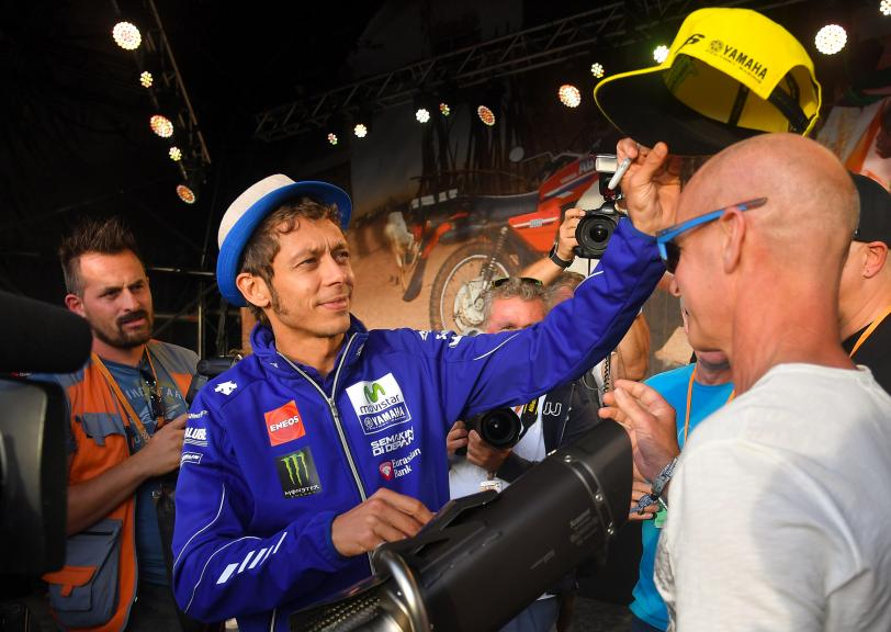 Valentino Rossi, Movistar Yamaha MotoGP, Day Of Champions, Octo British Grand Prix
