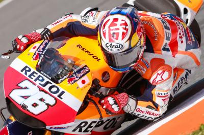 Pedrosa: 'Dry track time was exactly what I needed'