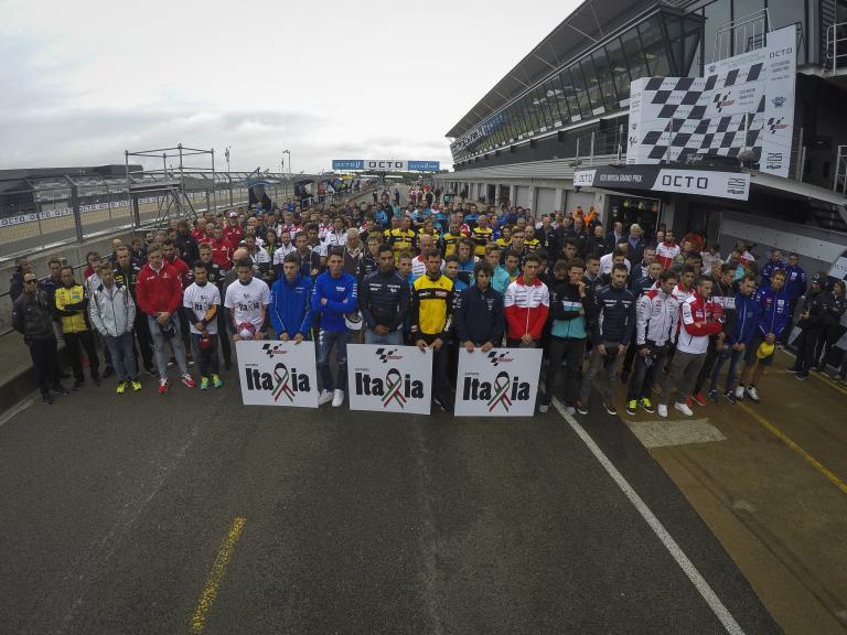 Minute of silence, Octo British Grand Prix
