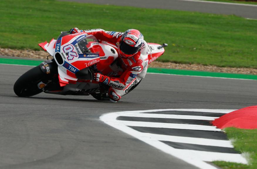 Andrea Dovizioso, Ducati Team, Octo British Grand Prix