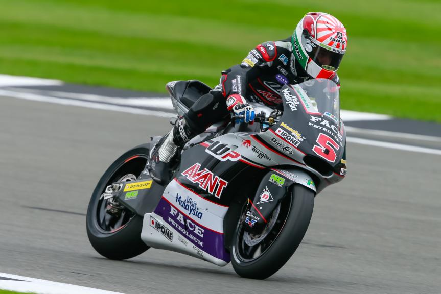 Johann Zarco, Ajo Motorsport, Octo British Grand Prix
