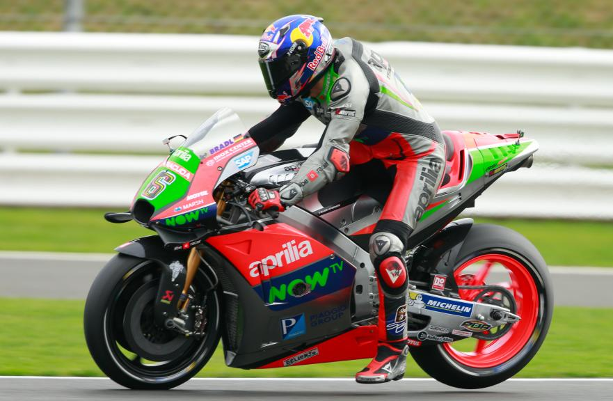 Stefan Bradl, Aprilia Racing Team Gresini, Octo British Grand Prix