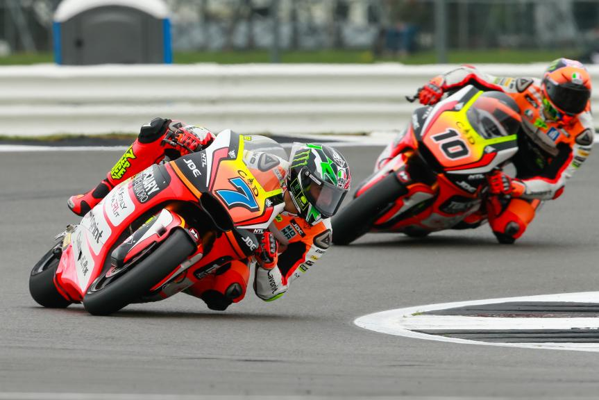 Lorenzo Baldassarri, Luca Marini, Forward Team, Octo British Grand Prix