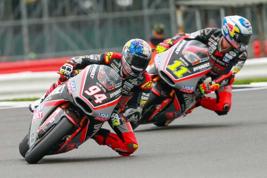 Sandro Cortese, Jonas Folger, Dynavolt Intact GP, Octo British Grand Prix