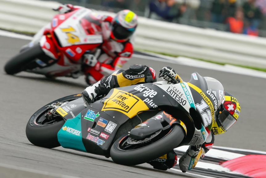 Thomas Luthi, Ratthapark Wilairot, IOcto British Grand Prix