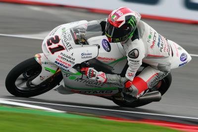 Primera pole para Bagnaia en Moto3™