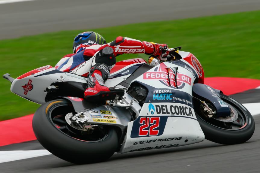 Sam Lowes, Federal Oil Gresini Moto2, Octo British Grand Prix