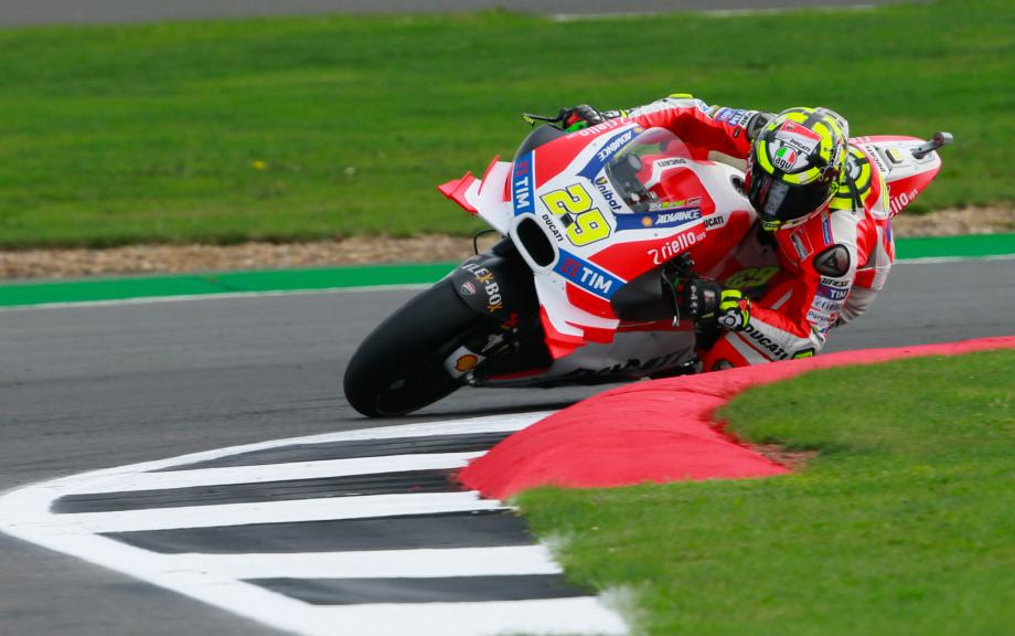Andrea Iannone, Ducati Team, Octo British Grand Prix