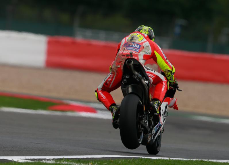 Andrea Iannone, Ducati Team, Octo British Grand Prix