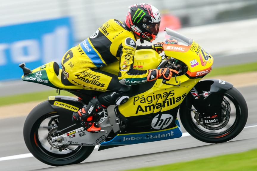 Alex Rins, Paginas Amarillas HP 40, Octo British Grand Prix