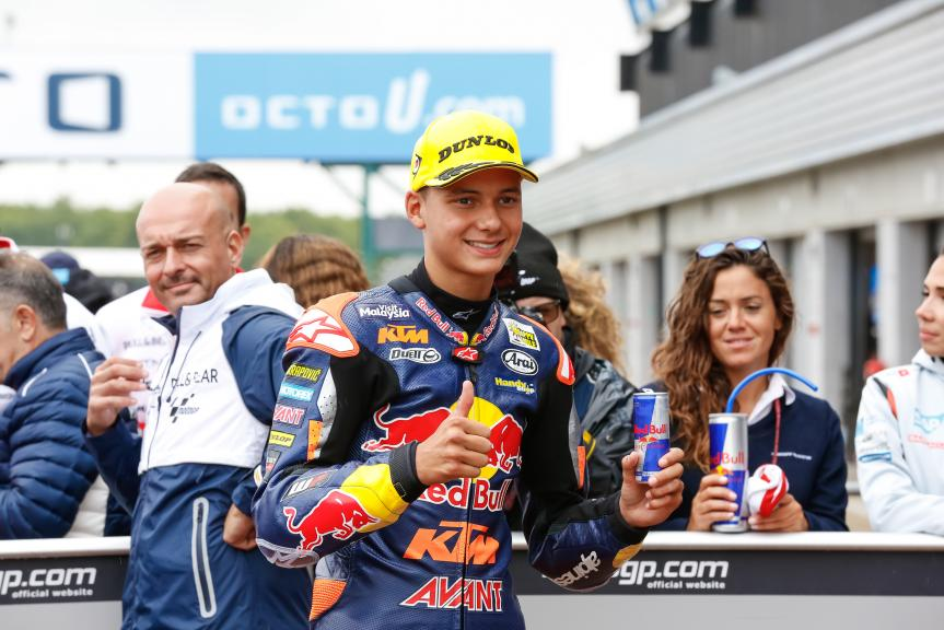 Bo Bendsneyder, Red Bull KTM Ajo, Octo British Grand Prix