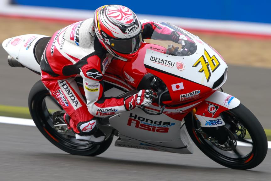 Hiroki Ono, Honda Team Asia, Octo British Grand Prix