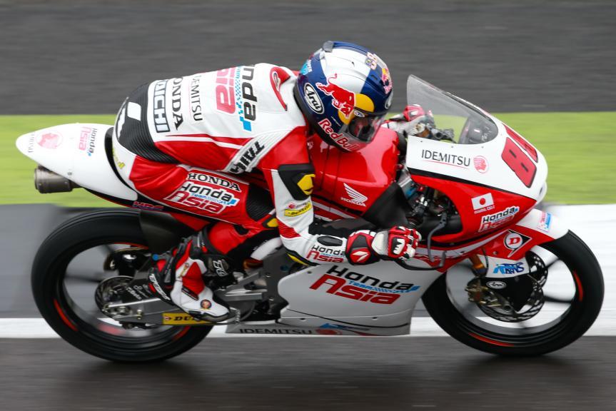 Khairul Idham Pawi, Honda Team Asia, Octo British Grand Prix