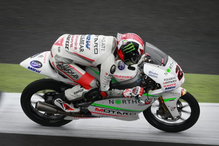 Francesco Bagnaia, ASPAR Mahindra Team Moto3, Octo British Grand Prix