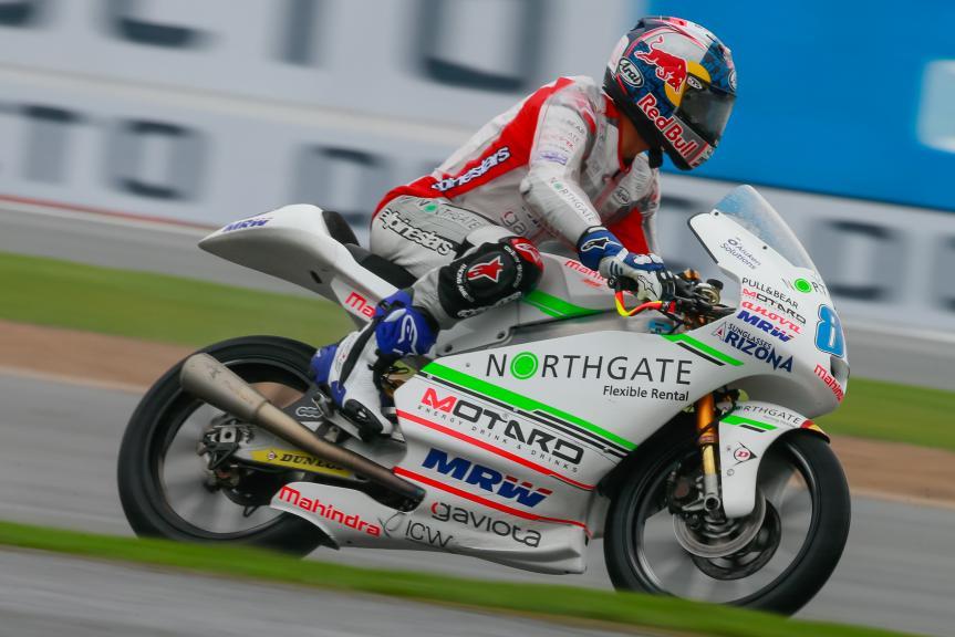 Jorge Martin, ASPAR Mahindra Team Moto3, Octo British Grand Prix