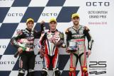 Sam Lowes, Johann Zarco, Jonas Folger, Octo British Grand Prix