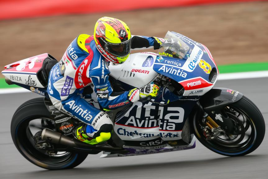 Hector Barbera, Avintia Racing, Octo British Grand Prix