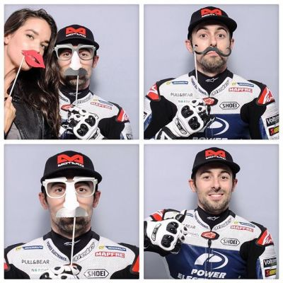 Best EVER #MotoGP qualifying for @eugenelaverty in front of the