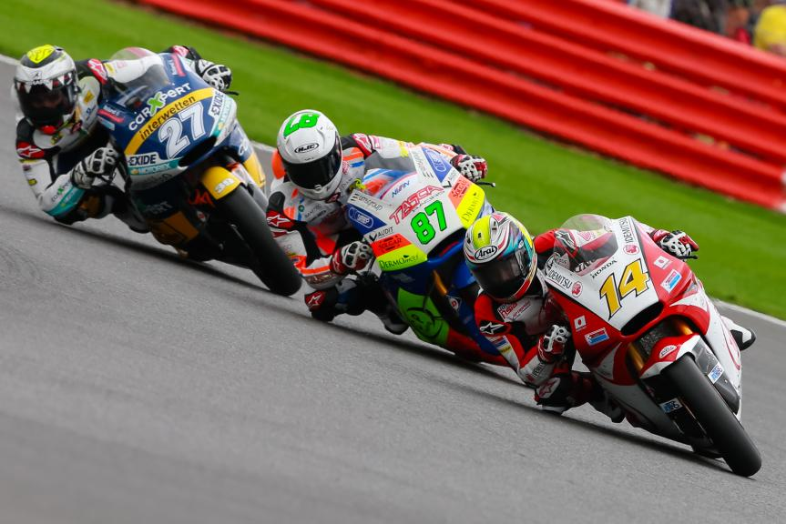 Ratthapark Wilairot, Iker Lecuona, Remy Gardner, Octo British Grand Prix