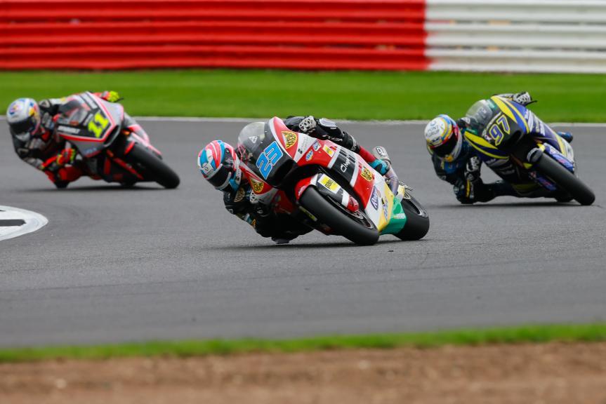 Sandro Cortese, Marcel Schrotter, Xavi Vierge, Octo British Grand Prix