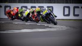 Catch all the details with this slow motion footage, filmed during the live race.