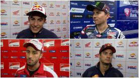 The fastest MotoGP™ riders give us feedback on their race results at the #BritishGP.