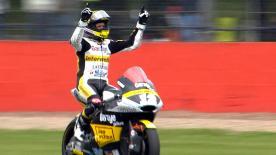 Tom Lüthi a remporté le Grand Prix Octo de Grande-Bretagne devant Franco Morbidelli et Takaaki Nakagami.