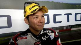 A Silverstone terzo podio della stagione per il pilota Idemitsu Honda.