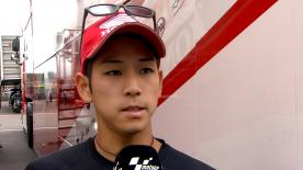 ブレーキトラブルを抱えながら20位でゴールした尾野弘樹が決勝レースを振り返る。