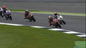 第12戦イギリスGPの中量級と軽量級からパッシングシーンを選出。  1. Maria Herera (Moto3) - 66 points 2. Fabio di Giannantonio (Moto3) - 63 points 3. Isaac Viñales (Moto2) - 61 points 4. Hafizh Syahrin (Moto2) - 61 points 5. Mattia Pasini (Moto2) - 53 points
