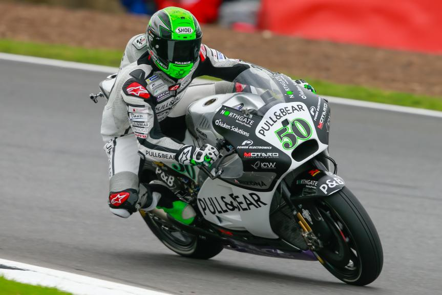 Eugene Laverty, Aspar Team MotoGP, Octo British Grand Prix
