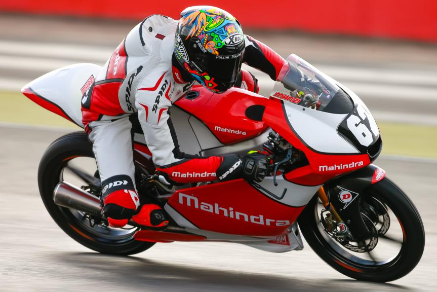 Stefano Manzi, Mahindra Racing, Octo British Grand Prix