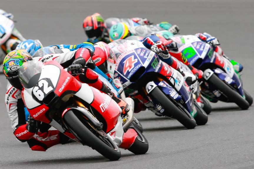 Stefano Manzi, Mahindra Racing, Octo British Grand Prix