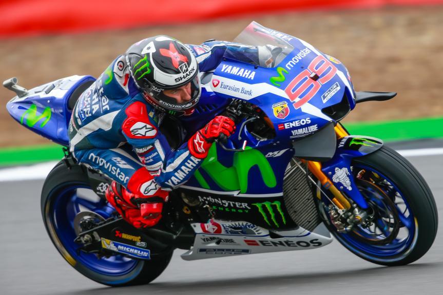 Jorge Lorenzo, Movistar Yamaha MotoGP, Octo British Grand Prix