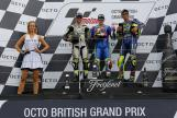 Maverick Viñales, Cal Crutchlow, Valentino Rossi, Octo British Grand Prix