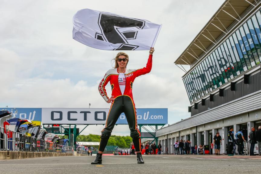 Sheene Tribute, Octo British Grand Prix