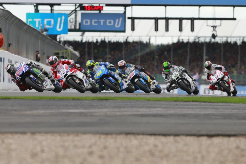 MotoGP, Octo British Grand Prix