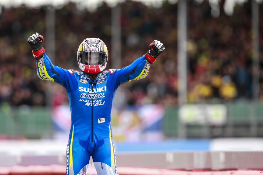 Maverick Viñales, Team SUZUKI ECSTAR, Octo British Grand Prix