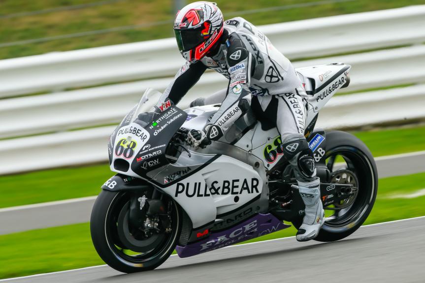 Yonny Hernandez, Aspar Team MotoGP, Octo British Grand Prix