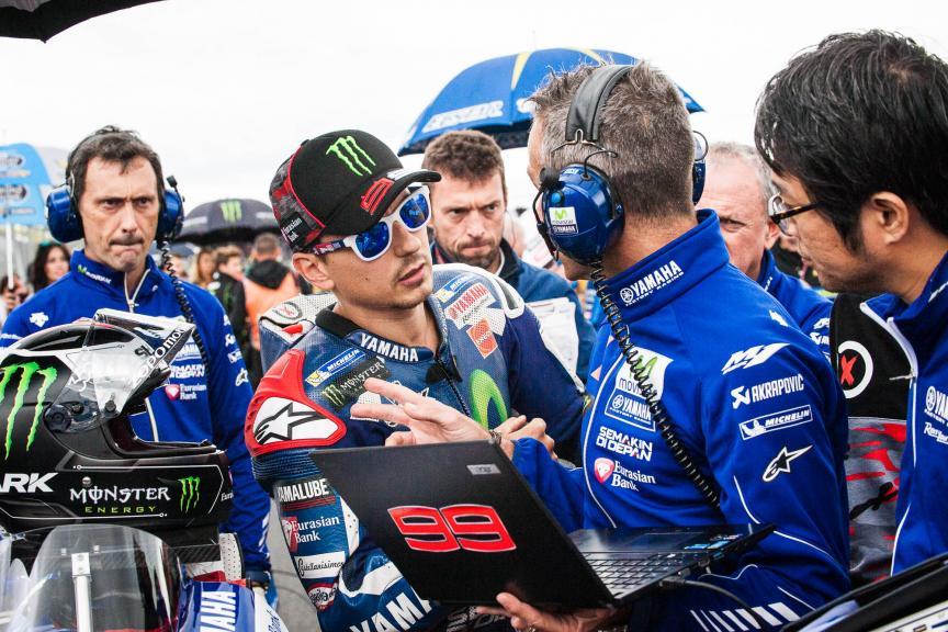 Jorge Lorenzo, Movistar Yamaha MotoGP, Octo British Grand Prix © 2016 Scott Jones, PhotoGP