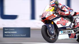 Moto2 rider goes through paddock life from his home GP