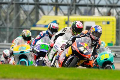 Binder in control as Moto3™ head back to Italy