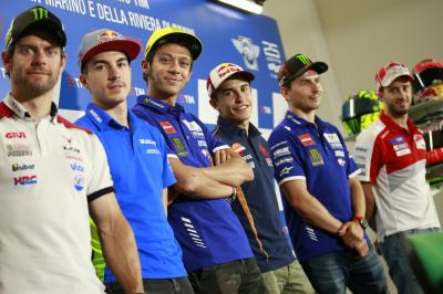 Press conference talks atmosphere, tyres and Misano circuit